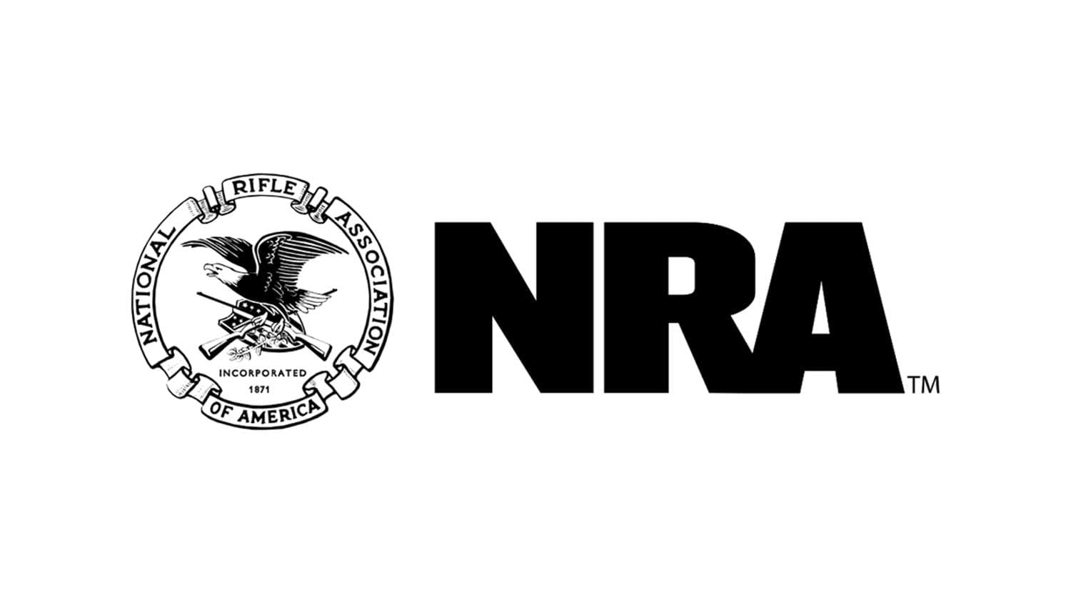 NRA Logo On Blue