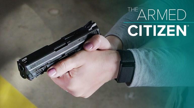 NRA Women The Armed Citizen Pistol Drawn