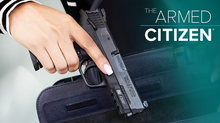 NRA Women The Armed Citizen Drawing A Pistol