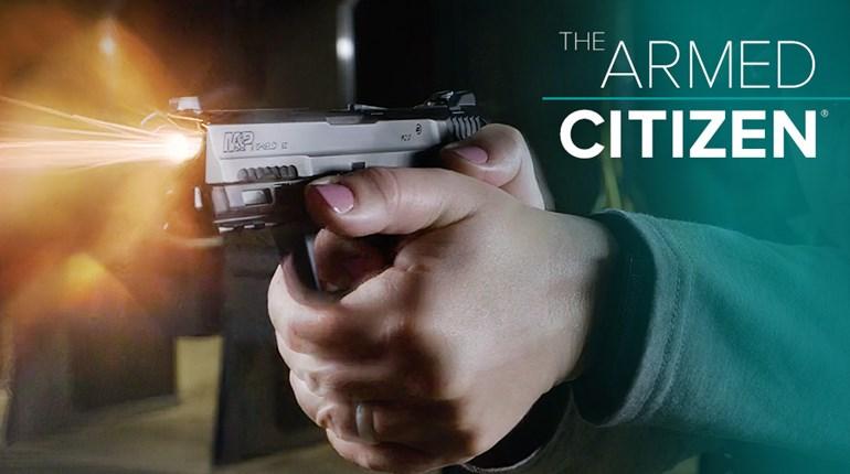 NRA Women The Armed Citizen Shooting A Pistol