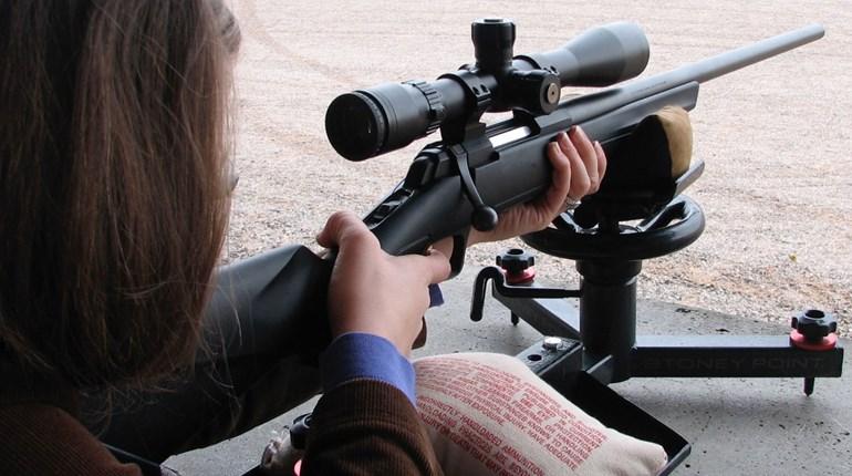 Off Hand Shooting Rifle