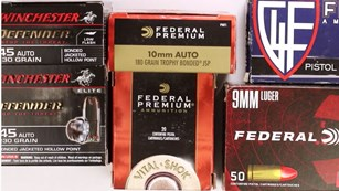 Variety Of Ammo Boxes