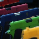 Colorful Handguns