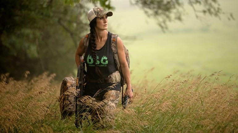 Bachman Walking With Hunting Gear