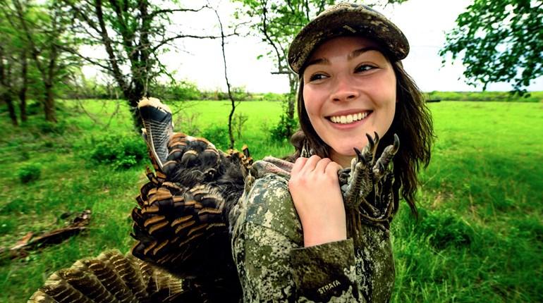 Smiling Turkey Hunter