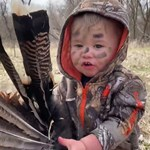 Toddler Turkey Hunting
